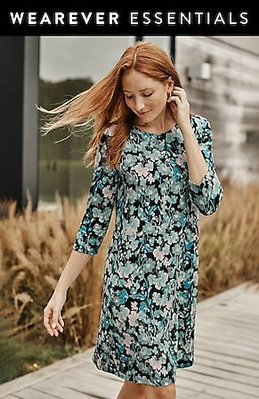 Image for Wearever Perfect Ballet-Sleeve Dress
