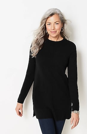 Image for Cashmere Seamed Tunic