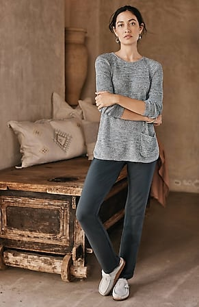 Image for Pure Jill Affinity Slim-Leg Pants