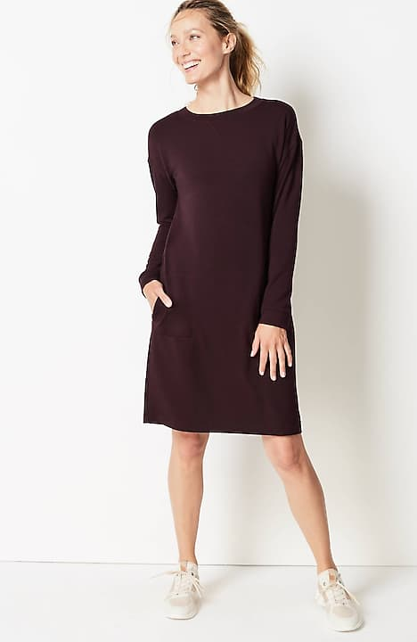 fit ultimate-fleece dress
