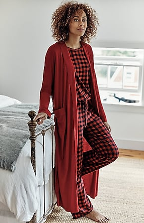 Product Image for Sleep Ultrasoft Belted Long Robe