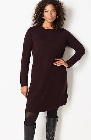 Image for A-Line Sweater Dress