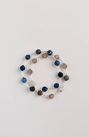 Image for Pure Jill Blue Note Semiprecious Bracelet
