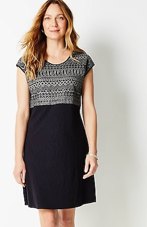 Image for Embroidered A-Line Dress