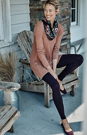 Image for Elise A-Line Sweater Tunic