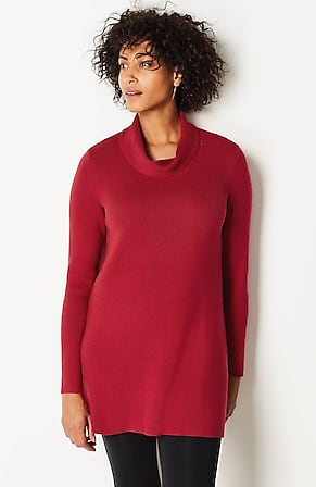 Image for Cowl-Neck Sweater Tunic