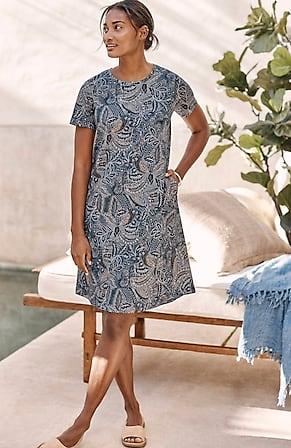 Image for Pure Jill A-Line T-Shirt Dress