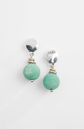 Product Image for Modern Links & Stones Post Drop Earrings