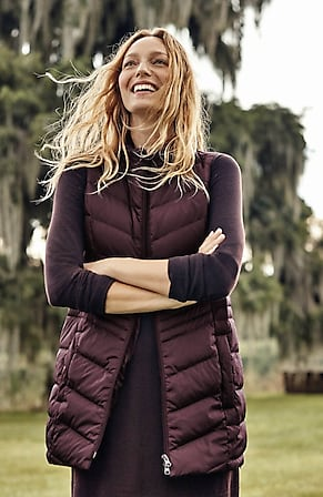 Image for Side-Zip Down Puffer Vest