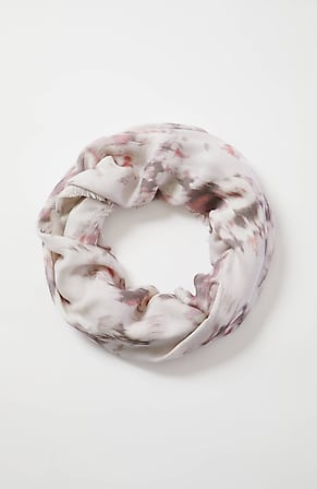 Image for Pure Jill Ikat-Print Infinity Scarf