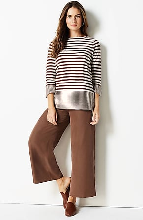 Image for Mixed-Stripes Double-Faced Top