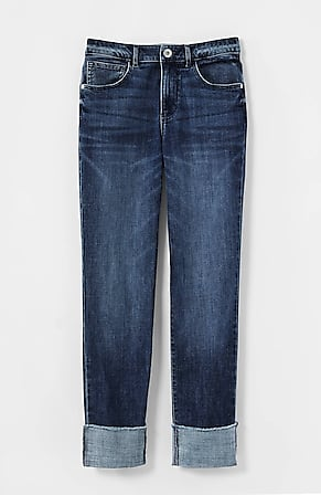 Product Image for High-Rise Cuffed Jeans