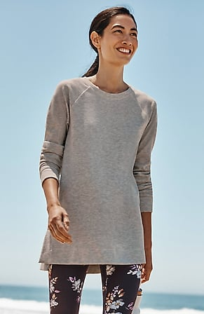 Image for Fit Soft-Brushed Raglan Tunic