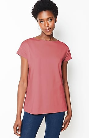 Image for Luxe Supima® Short-Sleeve Tee