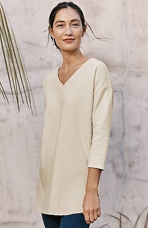 Image for Pure Jill Knit Shirttail Tunic
