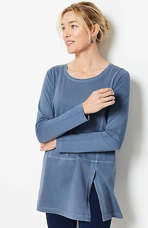 Image for Pure Jill O.G.C. Overdyed Seamed Tunic