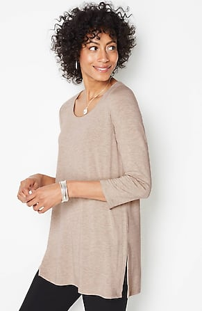 Image for Wearever Scoop-Neck Tunic