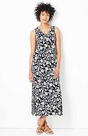 Image for Wearever Sleeveless V-Neck Maxi Dress