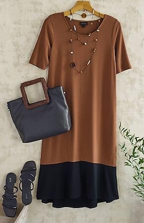 Image for Wearever Bordered Elliptical Dress