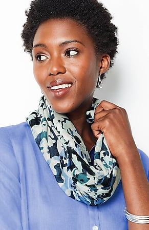 Image for Abstract Garden Infinity Scarf