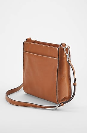 Image for Perry Leather Crossbody Bag With Interchangeable Straps