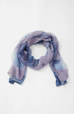 Image for Jacquard-Flowers Ombré Scarf