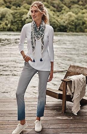 Image for Authentic Fit Slim-Leg Jeans