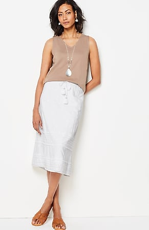 Image for Nora Embroidered Skirt
