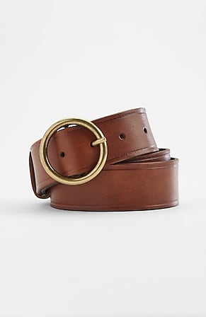 Image for Classic O-Ring Leather Belt