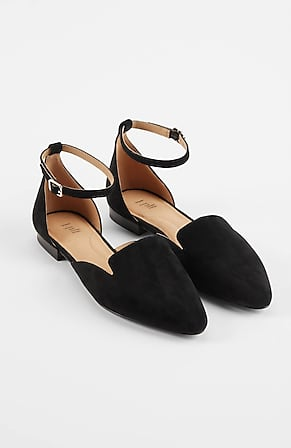 Image for Martine Ankle-Strap D'Orsay Flats