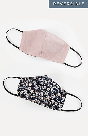 Image for Seamed Reversible Reusable Face Mask