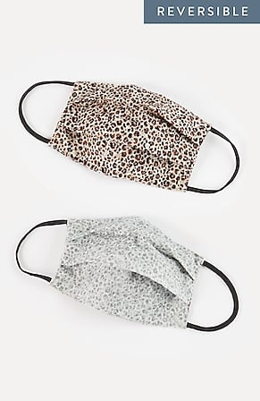 Image for Pleated Reversible Reusable Face Mask