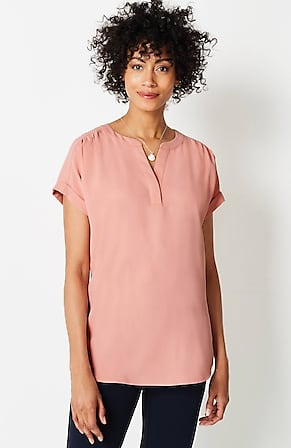 Image for Wearever Cuffed-Sleeve Top