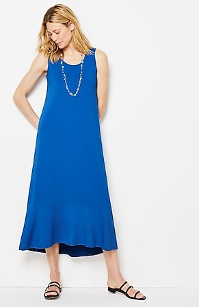 Image for Wearever Flounced-Hem Elliptical Maxi Dress