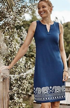 Image for Elephant Walk Sleeveless Knit Dress