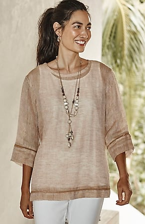 Image for Pure Jill Airy Weave Top