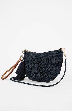 Image for Woven Shell Convertible Bag