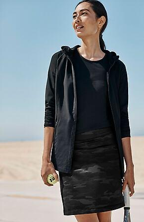 Image for Fit A-Line Knit Skort