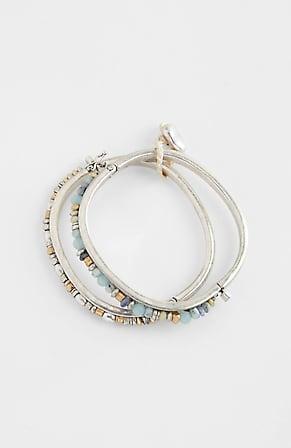 Image for Coastal Colors Semiprecious Cuff Bracelet