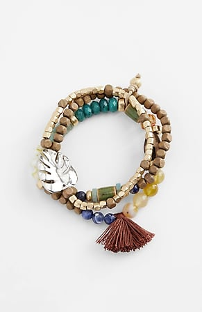 Image for Shades Of Nature Stretch Bracelet