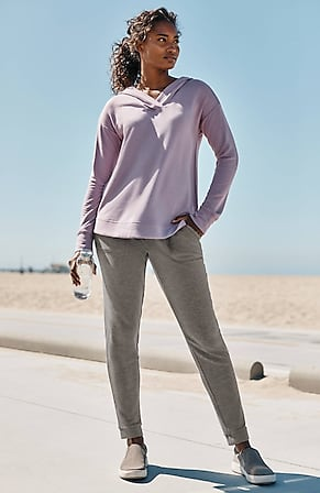 Image for Fit Ultimate-Fleece Patch-Pocket Joggers