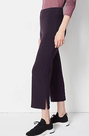 Image for Fit Ultimate-Fleece Slit-Hem Crops