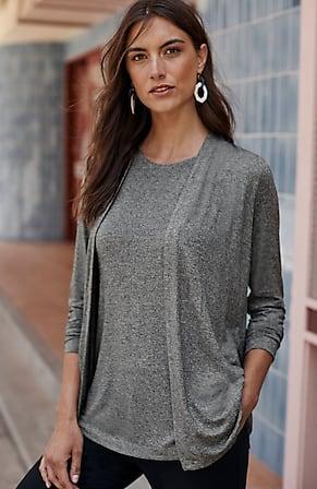 Image for Wearever Shirred-Back Jacket
