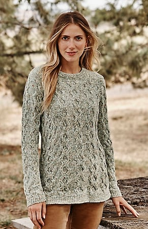 Image for Tweed Chenille Sweater