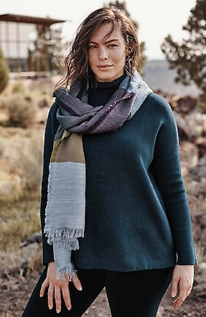 Image for Moorland Funnel-Neck Sweater