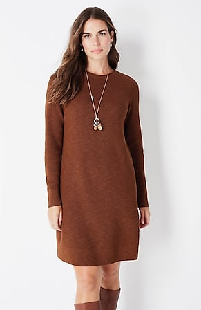 Image for Textured Sweater Dress
