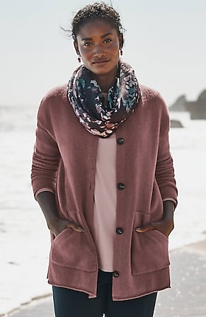 Image for Pure Jill Relaxed Sweater Shacket