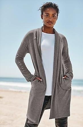 Image for Fit Ultimate-Fleece Long Cardi