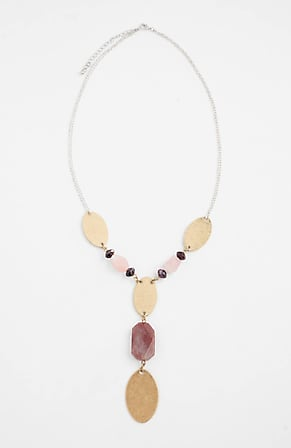 Image for Touch-Of-Blush Y-Necklace
