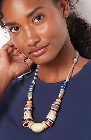Image for Pure Jill Artisanal Ceramics Short Necklace